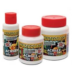 Cola Acrilex Multicolage 120ml