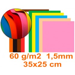 Goma eva - musgami  50x35 cm 1,5 mm