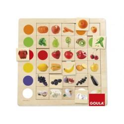 Jogo goula didactico aneis de cores.