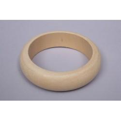 Pulseira em madeira Int.6.5 cm