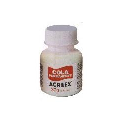 Cola permanente acrilex textil 37 Gr.