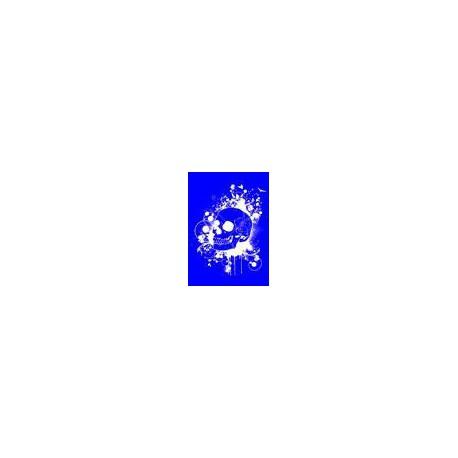 "Kit Stencil A4 P/Tecido ""Caveira"""