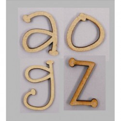 LETRAS COUNTRY Z MDF 20x28x4mm