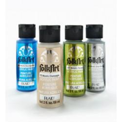 Tinta Acrilica FolkArt Metalicas 59 ml