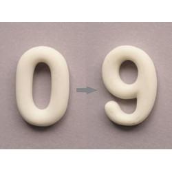 NUMEROS  3cm MINIATURA
