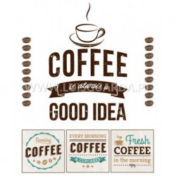 PAPEL 21X29.7CM COFFEE P/CALCOTRANSFER