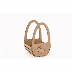 KIT EGG BASKET 9.3X9X15X0.3CM MDF