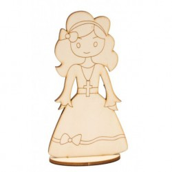 GIRL COMMUNION 46CM DOLLY