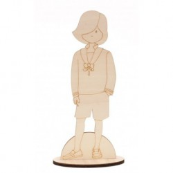 BOY W/CROSS COMMUNION 46CM