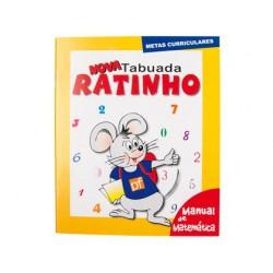 Nova tabuada ratinho - manual de matematica.