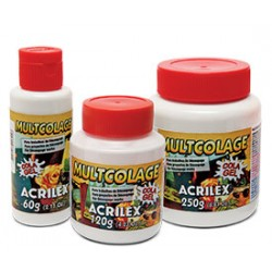 Cola Acrilex Multicolage 120ml