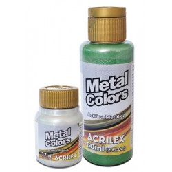 Tinta Acrilex Metalica Colors acrilica 60ml