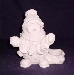 Bonecos de neve em marfinite