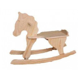 Cavalo c/ baloiço grande  (75x24x54cm)