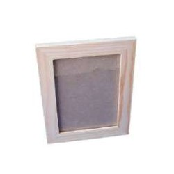 Moldura lisa c/ vidro 10x15
