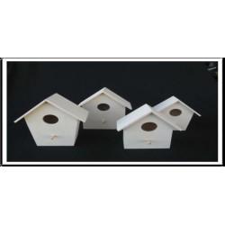 NINHO  P/PASSAROS INCLINADA PAREDE Nº1 – (17x16x9,5cm)
