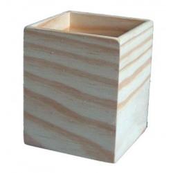 CAIXA P/LÁPIS  (7,5x7,5x9,5cm)