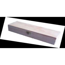 CAIXA PARA PINCÉIS (25x7,5x4,5cm)