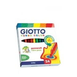 MARCADOR giotto turbo color 24
