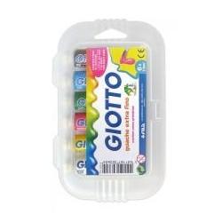 Guache escolar giotto 7,5 ml 6 cores sortidas.