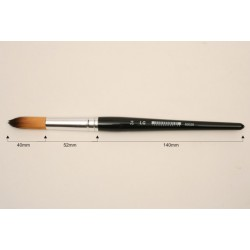 BRUSH LG Nº24 SYNTHETIC ROUND /12