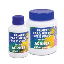 Primer para Metais, PET e Vidro- 100ml