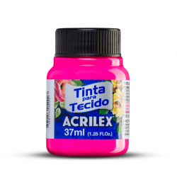 Tinta Tecido Acrilex Flurescente 37ml