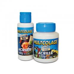multicolage textil acrilex 120g