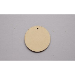 4 BASES RED 5.5X0.3CM MDF