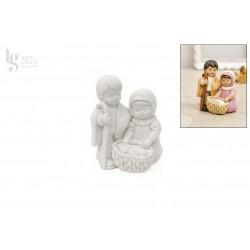 SAGRADA FAMILIA INFANTIL 7.5CM
