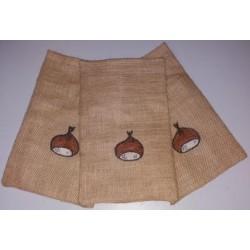 Sacos de Serapilheira 30x18 cm  Pintados
