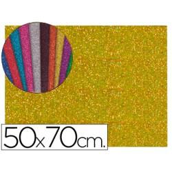 Goma eva com purpurina  50x70cm 60g/m2 espessura 2mm