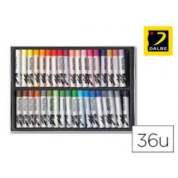 Lapis pastel oleo dalbe caixa 48 cores sortidas.