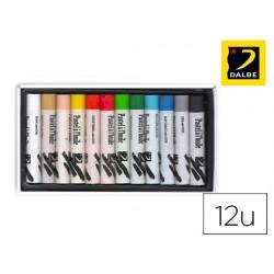Lapis pastel oleo dalbe caixa 24 cores sortidas.