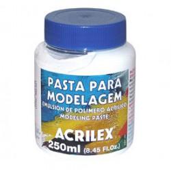 pasta para modelagem acrilex 250ml