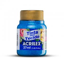 TINTA TECIDO GLITTER 37ML ACRILEX