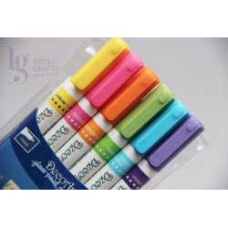 MARCADORES GLASS PAINT MARKER DECOART DGPM