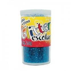 Purpurina  fantasia cores metalicas  frasco de 14 gr.