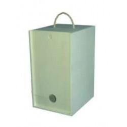 Caixa p/ Box Vinho Grande (18,5x22x35cm)