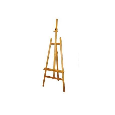 Cavalete artist para pintura em madeira 66 x 87 x 231 cm.