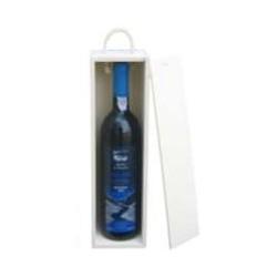 Caixa p/ 1 garrafa c/ tampa de correr (10x10x30,5cm)