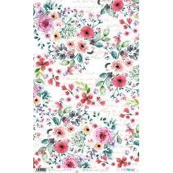 PAPEL ARROZ 54X33CM FLOWER FESTIVAL