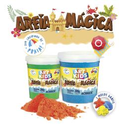AREIA MÁGICA ACRILEX 200g
