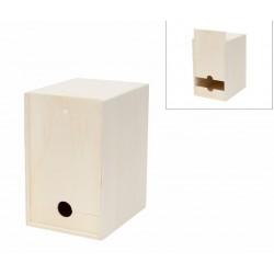 WOODEN BOX 17.5x23x28CM