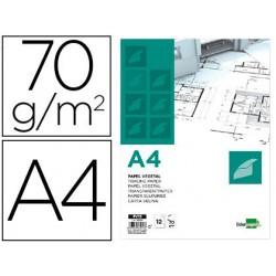 Lider paper papel de desenho a4 210x297mm 70g / m2 vegetal em 12 folhas.