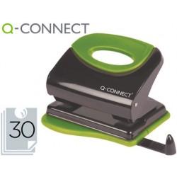 Furador q-connect metalico capacidade para 30 folhas.