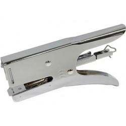 Agrafador q-connect alicate capacidade 40 folhasusa agrafes 24/6 26/6.