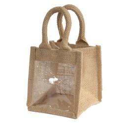 bolsa de presentes uma janela - 12x12x13cm