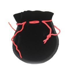 Bolsinhos de Veludo de Qualidade - Negro 12x8cm