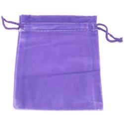 Bolsa de Veludo de Qualidade - Roxo 10x12cm